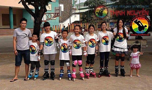 dạy trượt patin