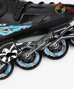Giày Patin Flying Eagle FBs FastBlade Đen & Xanh