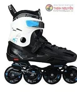 Giày trượt patin flyting eagle F1S dành cho trẻ em màu đen