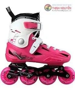 Giày trượt patin flyting eagle F1S dành cho trẻ em màu hồng