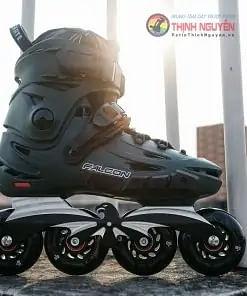 Giày Trượt patin người lớn F6s Falcon Xanh