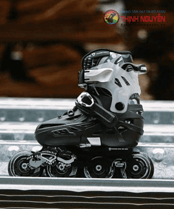 Giày trượt patin flyting eagle s6 dành cho trẻ em màu đen
